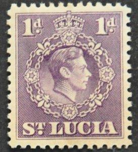 DYNAMITE Stamps: St. Lucia Scott #111 – MINT hr