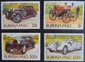 Burkina Faso, 1985, Airmail - Automobiles and Aircrafts, Cars, (1697-T)