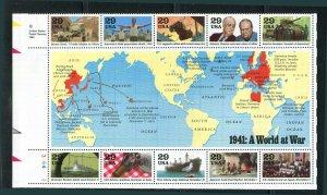U.S. 1941 World At War ½ Sheet & Special Folio 1991