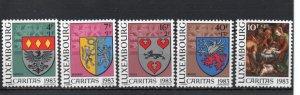 Luxembourg B342-B346 MNH