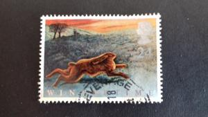 Great Britain 1992 Animals in Winter Used