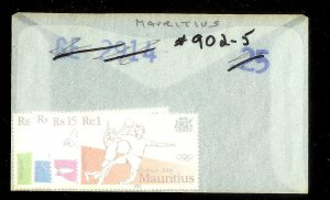MAURITIUS Sc#902-905 Complete Mint Never Hinged Set