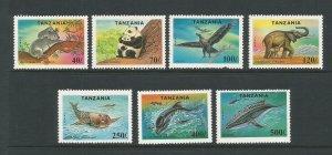 Tanzania 1994 Endangered Species Unmounted Mint Set SG 1807/13