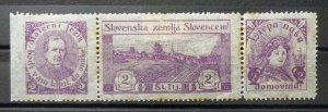 Yugoslavia Croatia Serbia Nice Selection-Early Better Poster Charity Stamps  C5