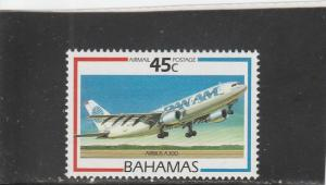 Bahamas  Scott#  C7  MNH  (1987 Aircraft)