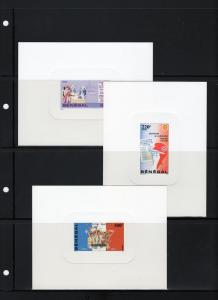 Senegal 1989 French Revolution Bicent.Deluxe SS (3) Sc#814/6