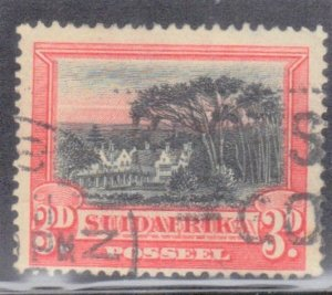 REP SOUTH AFRICA SC# 27B **USED** 1927-28   3p  SEE SCAN