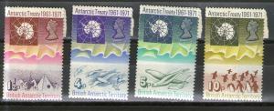 British Antarctic Territory 39-42 MNH