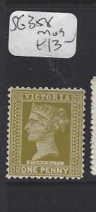VICTORIA  (P2607B)       1D   SG 358   MOG