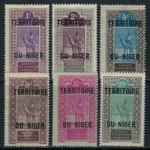 Niger #1-4,6,9*  CV $2.90