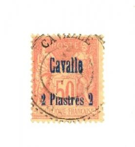 French Offices in Cavalle Scott 6 Used (Catalog Value $60.00)