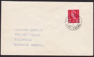 GB SCOTLAND 1969 cover GLENDALE PORTREE / ISLE OF SKYE cds.................67857