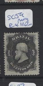 BRAZIL (P2102B) DOM PEDRO  200R  SC 59    MOG