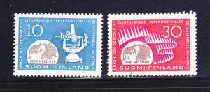 Finland 373-374 Set U Geodesy and Geophysics (A)