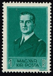 HUNGARY STAMP 1938 Admiral Miklos Horthy MH/OG 1F