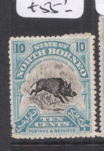 North Borneo SG 173 MOG (8dnm)