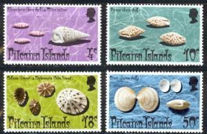 Pitcairn Islands Sc# 137-140 MNH 1974 Shells