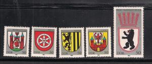 GERMANY - DDR SC# 2364-8 VF MNH 1983