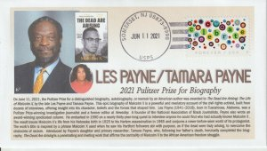 6° Cachets Pulitzer Prize 2021 Les Payne & Tamara Payne for Biography Malcom X
