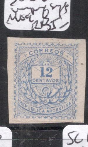 Argentina SC 84 Imperf Single MOG (11dio)