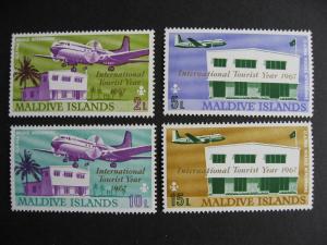 Maldive Islands Sc 221-28 MNH nice set!