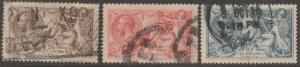GB #179-181 USED XF GEM CV $380 BN1069