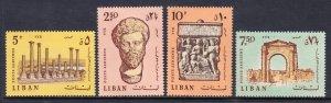 Lebanon - Scott #C552-C555 - MNH - SCV $2.85
