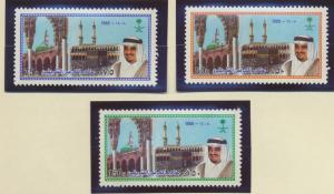 Saudi Arabia Stamps Scott #1081 To 1083, Mint Never Hinged - Free U.S. Shippi...