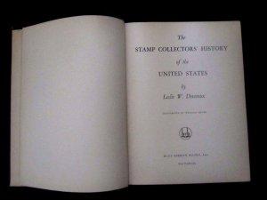 Stamp Collectors History of the US, Leslie Devereux, 1934, Blue Ribbon NYC Pub.