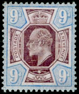SG251a SPEC M40(-), 9d very pale purple & pale ultra (CHALKY), LH MINT.UNLISTED.