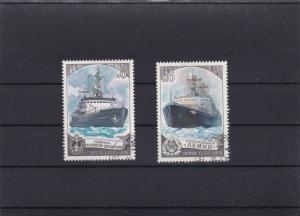 RUSSIA  MOUNTED MINT OR USED STAMPS ON  STOCK CARD  REF R1013