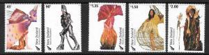 NEW ZEALAND SG2701/5 2004 WEARABLE ART MNH