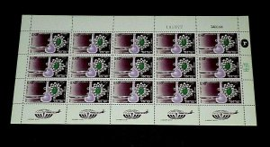 1968, ISRAEL #C40,  AIRMAIL, IMPORT ISSUE, 0.40, SHEET/ 15 , MNH, NICE! LQQK!