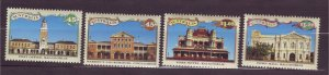 J23792 JLstamps 1992 australia set mnh #1297-1300 buildings