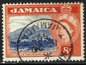 Jamaica 1956 Scott# 167 Used