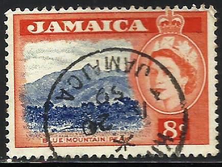 Jamaica 1956 Scott# 167 Used
