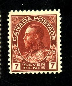 CANADA #114 MINT F-VF OG LH Cat $20