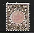 ITALY, 132, MINT HINGED, OLD SEAL