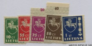 LITHUANIA  301-05  MNH