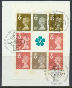 Northern Ireland SG NI70a  Used from booklet with  cancel  Machin see details
