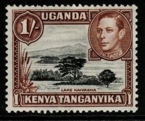 KENYA, UGANDA & TANGANYIKA SG145ba 1950 1/= DEEP BLACK & BROWN MTD MINT