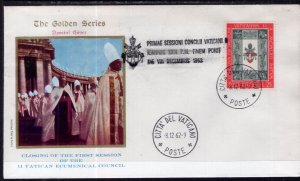 Vatican City Vatican II Closing First Session 1962 Cover