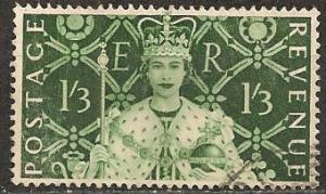Great Britain #315 F-VF Used CV $2.50 (A13213)