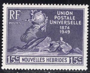 NEW HEBRIDES-FRENCH SCOTT 80