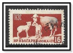 Bulgaria #885 Sheep Used