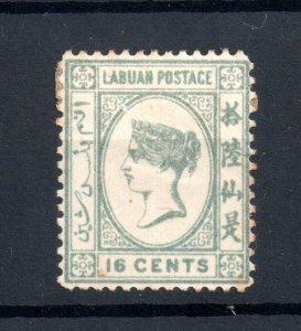 Labuan 1894 16c SG56 mint MH WS20008