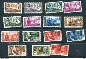French Equatorial Africa MNH Selection Sc 33-42 45-6 48 53 55 11410