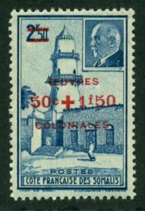 Somali Coast 1944 #B12 MH SCV(2018)=$1.00