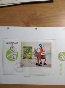 Grenada  #  959  First day cover