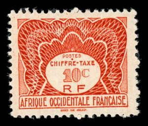French West Africa J1 Unused (MH)